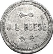 1 Pint - J. L. Beese (Waterloo, Ontario) – avers