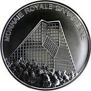 Medallion - Royal Canadian Mint – revers