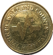 1 Token - Welland County General Hospital – avers