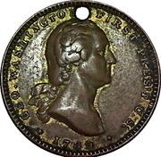 Token - George Washington (Centennial of Inauguration) – avers