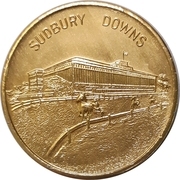 Medal - Sudbury Downs – avers
