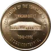 Token - Township of Hay (Huron County, Ontario) – avers