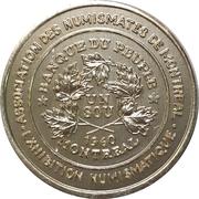 Token - Montreal Coin Club Exhibition – avers