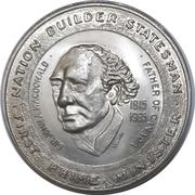 Medal - Thompson Nickel Mine / Sir John A. Macdonald – revers