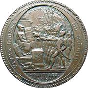 5 Sols Monneron Freres, 1792 (Type 2) -  avers