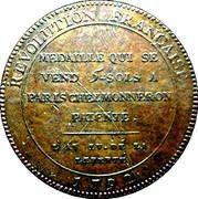 5 Sols Monneron Freres, 1792 (Type 2) -  revers