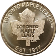Medallion - Toronto Maple Leafs – avers