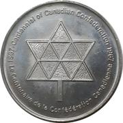 Medallion - Western Fair Centennial (London, ON) – revers