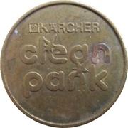 Jeton de lavage automobile - Kärcher Clean Park (Schloz Markt) – revers