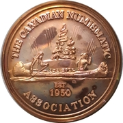 Medal - Canadian Numismatic Association 1981 – avers