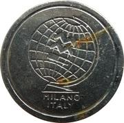 Jeton - MMC Milano Italy (3 rainures espacées) – avers