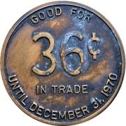 36 Cents - Capital Iron & Metals Ltd. (Victoria, British Columbia) – revers