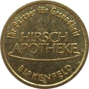 Bonus Taler - Hirsch Apotheke (Birkenfeld) – avers
