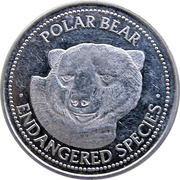 Token - World Endangered Species Coin Collection (Polar Bear) – avers