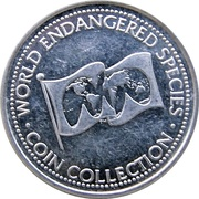 Token - World Endangered Species Coin Collection (Polar Bear) – revers