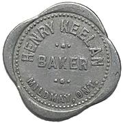 1 Loaf of Bread - Henry Keelan (Mildmay, Ontario) – avers