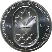 Token - Canadian Olympic Association – avers