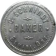1 Loaf of Bread - C. Schwindt Baker (Elmira, Ontario) – avers