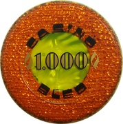 1000 - Casino Bled (Bled) – avers