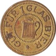 Jeton de bière - 1 Glas Bier – avers