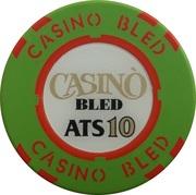 10 Schilling - Casino Bled (Bled) – avers