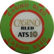 10 Schilling - Casino Bled (Bled) – revers