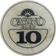 10 - Casino Bled (Bled) – avers