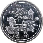 2 Dollars - Rotary Club of Sault Ste. Marie (Ontario) – avers