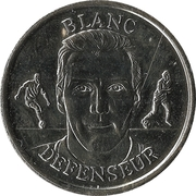 Fédération Française de Football - Continent Equipe de France - Laurent Blanc -  avers