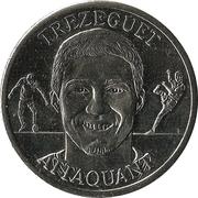 Fédération Française de Football - Continent Equipe de France - David Trezeguet – avers