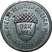 25 cents - Oak Hall – avers