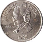 Token - Richard Cashwell (North Carolina) – avers