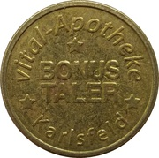 Bonus Taler - Central Apotheke (Karlsfeld) – avers