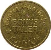Bonus Taler - Central Apotheke (Karlsfeld) – revers