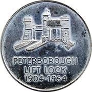 Token - Peterborough Lift Lock, Ontario – avers