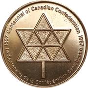 Token - Canada Centennial (Bucke Township, Ontario) – revers