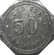 50 cents - W.K. Loth (Milverton, Ontario) – revers