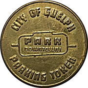 25 Cents Parking Token - Downtown Guelph parking – avers
