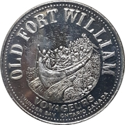 Jeton souvenir - Old Fort William (Thunder Bay, Ontario) – avers