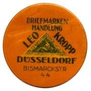 10 Pfennig (Dusseldorf) [Private, Leo Kropp] – avers