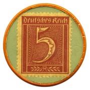 10 Pfennig (Dusseldorf) [Private, Leo Kropp] – revers