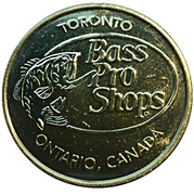 Token - Toronto Bass Pro Shops (Largemouth Bass) – revers
