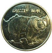 Token - Toronto Bass Pro Shops (Grizzly Bear) – avers