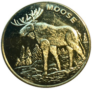 Token - Toronto Bass Pro Shops (Moose) – avers