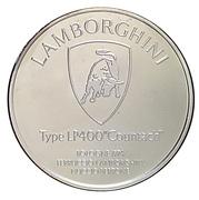Centenaire de l'Automobile - Lamborghini LP400 «Countach» – revers