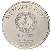 Centenaire de l'Automobile - Mercedes-Benz type 300SL – revers