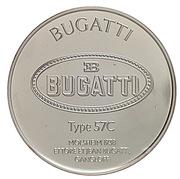 Centenaire de l'Automobile - Bugatti type 57C – revers
