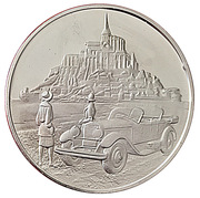 Centenaire de l'Automobile - Hispano-Suiza type H6B – avers