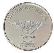 Centenaire de l'Automobile - Hispano-Suiza type H6B – revers