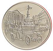 Centenaire de l'Automobile - Rolls Royce «The Silver Ghost» – avers